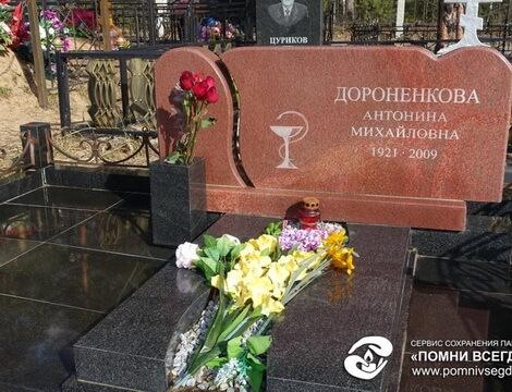 Ваза. Габбро-диабаз Дедовск Прямоугольный вертикальный памятник Весьегонск